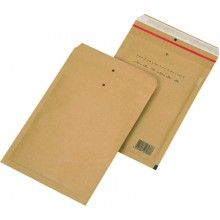 220 x 265mm / 242 x 275mm Brown Peel & Seal Padded Bag 100 pack