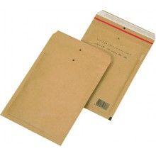 220 x 265mm / 242 x 275mm Brown Peel & Seal Padded Bag 100 pack