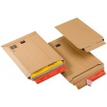 340 x 500mm / 353 x 518mm Brown Peel & Seal All Board Envelope 100 pack